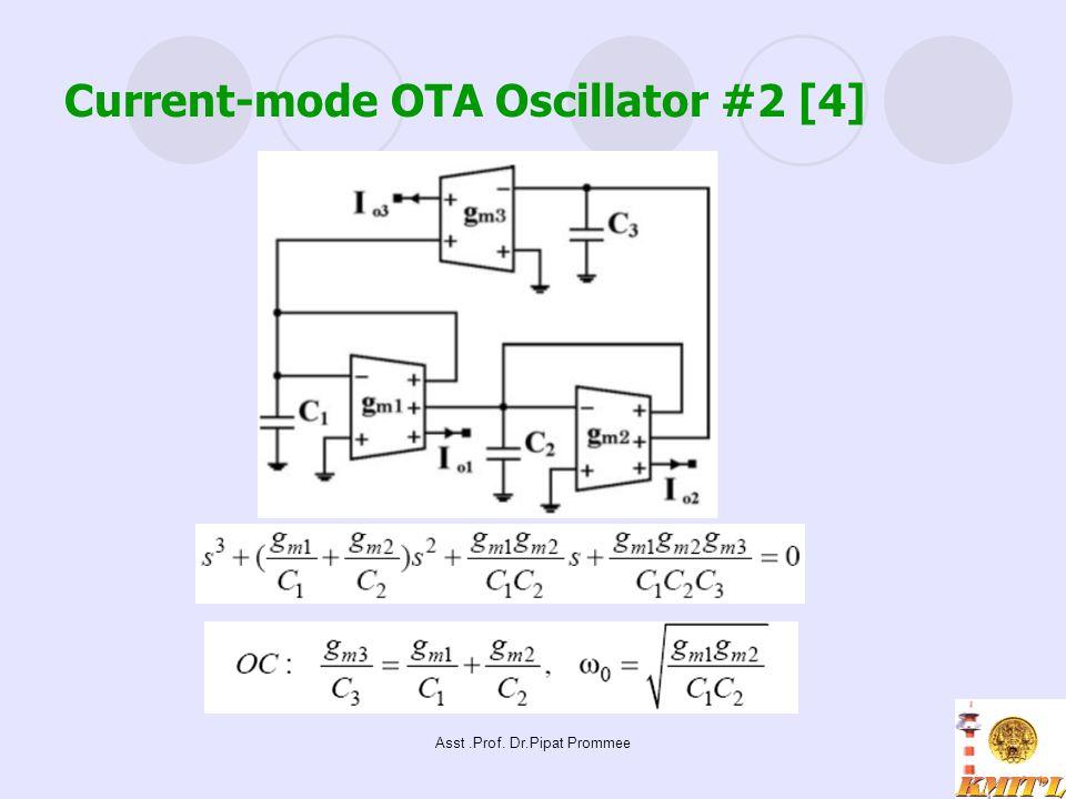 Current-mode OTA Oscillator #2 [4]